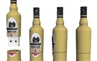 oem bottle shape usb drives