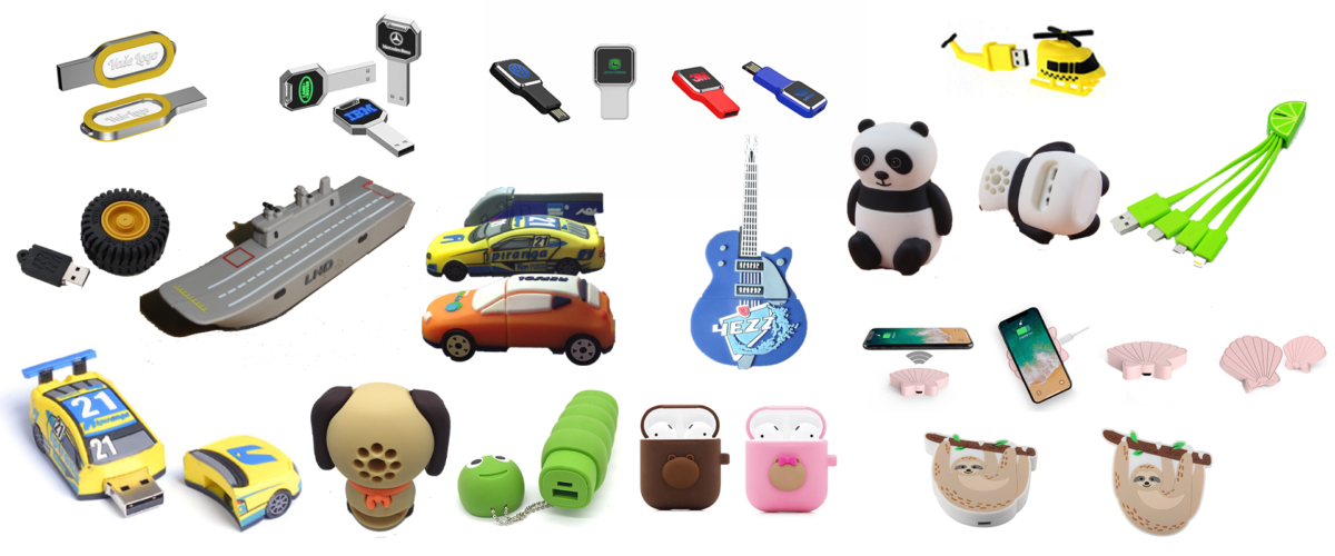 custom usb flash drive and power bank wireless chargers