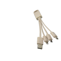 3 in 1 usb cable in eco material