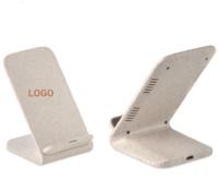 eco wheatstraw phone charging stand