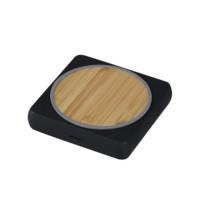 square concrete wireless charging pad