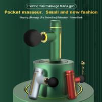 mini electric power massage gun