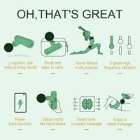 massage gun after exercises
