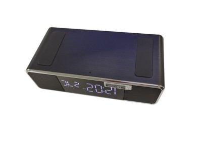 6019 bluetooth speaker with charger and clock