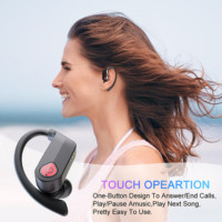 wireless bluetooth earphones for sports and work