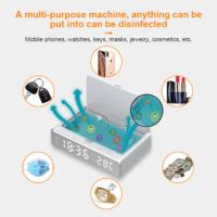 UV sterilizer box wireless charger alarm clock