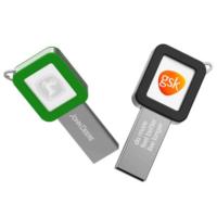 Metal Key USB light LOGO