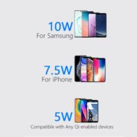 10w fast wirless charging pad