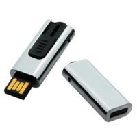 metal push usb memory,laser logo white box
