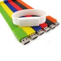 bracelet usb drive in multi unit colours laser logo