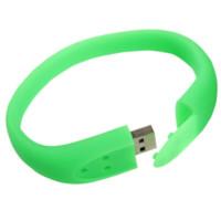 wristband pen drive green colour