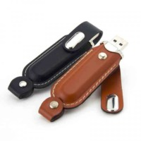usb leather with cover