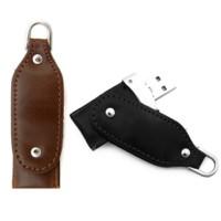 twister leather usb flash drive