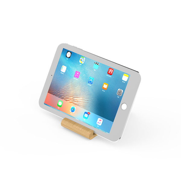 bamboo phone holder wireless charger