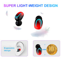bluetooth earphones with charge box