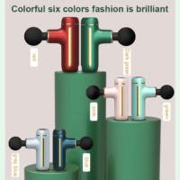 different unit colours deep relief massage gun