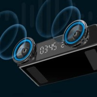 dual speaker wireless charger