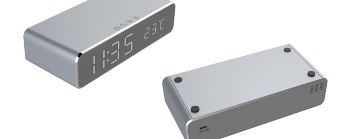 258 wireless charger with alarm clock