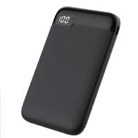 mini size power charger black colour