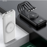 wireless power with integrated cables