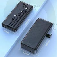 portable power bank with wall plug